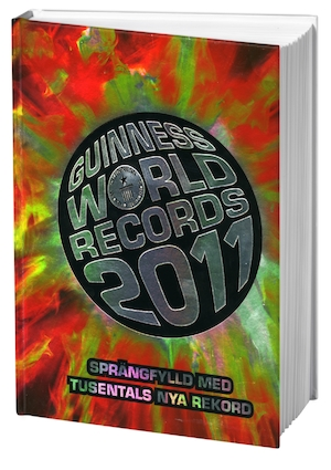 Guinness world records: 2011.