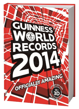 Guinness world records: 2014.