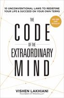 The code of the extraordianry mind