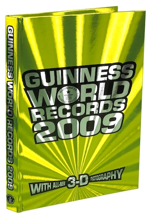 Guinness world records: 2009.