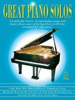 Great piano solos: The film book.