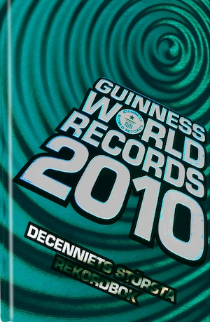 Guinness world records: 2010.
